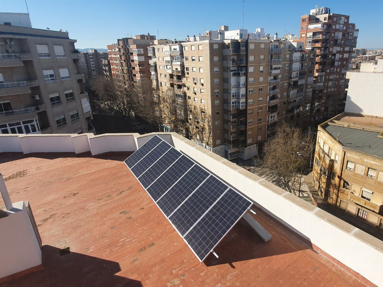 instalaciones solares en comunidades