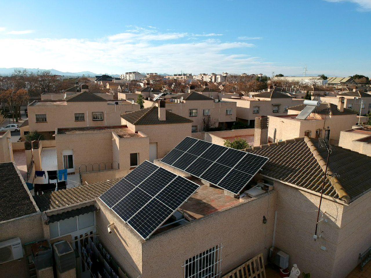 instalacion solar en vivienda